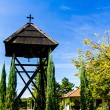Постер, плакат: Old wooden bell tower