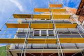 Nueva fachada de la casa nueva — Foto de Stock