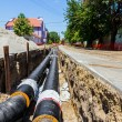 New pipeline in the process of building — Stock Photo #70513235