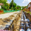 New pipeline in the process of building — Stock Photo #70523347