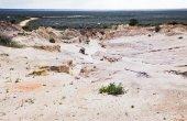 Alien moonscape Lake Mungo Australia — 图库照片