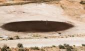 Desert golf course — Stock Photo