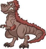 Cartoon Tyrannosaurus Rex — Stock Vector