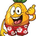 Hawaiian pineapple — Stock Vector #65298359