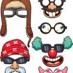 Funny glasses — Stock Vector #76511095
