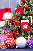 Christmas accessories — Stockfoto