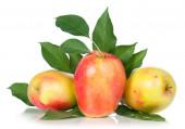 Sappige appels — Stockfoto