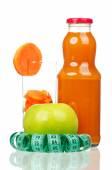 Carrot juice — Stock fotografie