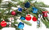 Noel oyuncaklar — Stok fotoğraf