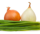 Young onion — Stock Photo