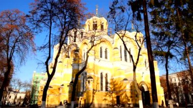 St Volodymyr's Cathedral — Stock Video