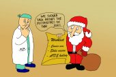 Doctors wishlist for Christmas — Stockfoto
