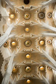 Internal structure of the Sagrada Familia   — Stock Photo