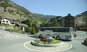 Camino a través de Andorra — Foto de Stock