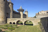 The fortress of Carcassonne — Stock Photo