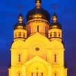 Saviour Transfiguration Cathedral in the evening — Stock Photo #63124523