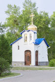 Source Blessed Virgin Mary at the Church of Serafim Sarovsky — Стоковое фото