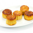 Moon cake on white plate  — Stock Photo #51883669
