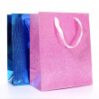 Colourful paper shopping bags isolated on white  — Stock Photo #58239823