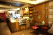 Blur restaurant — Foto Stock