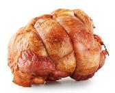 Smoked delicious bacon — Stock Photo