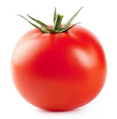Ripe red fleshy tomatoes — Stock Photo