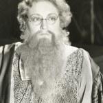 Bearded lady lookig away — Foto Stock #82897796