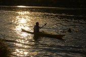 Paddler — Stock Photo