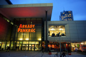 Shopping centre Arkady Pankrac — Stock Photo
