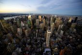 Manhattan in New York City — Stock Photo