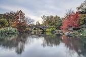 Gapstow bridge Central Park, New York City — Stock Photo