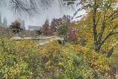 Bow bridge — Stock Photo