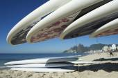 Stand Up Paddle Surfboards Ipanema Rio Brazil — Foto de Stock