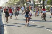 Brazilians Skateboarding Rio de Janeiro Brazil — Stock Photo