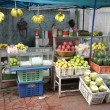 Outdoor Farmers Fruit Market Stall — Stock Photo #71071631