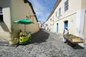 Street Life Pelourinho Salvador Brazil — Stock Photo
