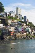 Salvador Brazil Solar do Unhao Favela Community — Fotografia Stock