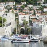 Dubrovnik Croatia Boat Marina Scenic — Stock Photo #73066771
