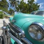 Classic American Car Varadero Cuba — Stock Photo #73066247