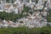 Favela Brazilian Hillside Shantytown Rio de Janeiro Brazil — Stock Photo