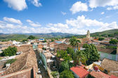 Trinidad Cuba Colonial Architecture Terra Cotta Skyline — Stock Photo