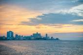 Havana Cuba Sunset Skyline — Stock Photo