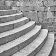 Half Round Staircase at Old Church Dubrovnik Croatia — Stock Photo #77154855