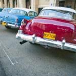 Classic American Cars Havana Cuba — Stok fotoğraf #77166007