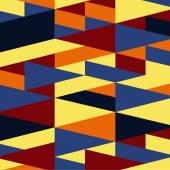Fundo de geometria abstrata — Vetorial Stock