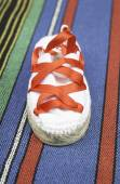 Shoes san fermin — Стоковое фото