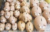 Ceramic pig piggy banks — Stock Photo