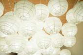 Paper Lamps — Stock Photo