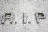 Mortuary Symbol — Stock Photo