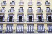 Modern yellow building — Stock Photo